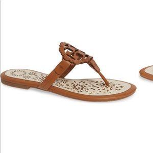 433ecb37a8c Tory Burch Shoes - Miller Scalloped Medallion Sandal TORY BURCH